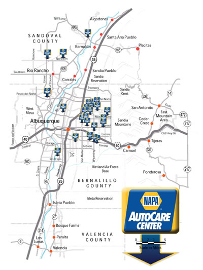 NAPA AutoCare Locations in Albuquerque, NM