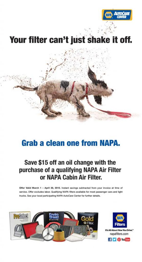 Get $15 off your filter installed