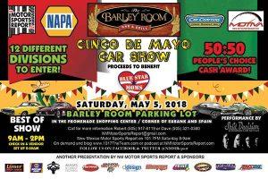 Cinco de Mayo Car Show @ The Barley Room | Albuquerque | New Mexico | United States