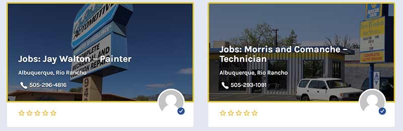 Automotive Repair Jobs