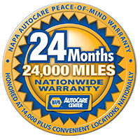 NAPA AutoCare Nationwide Warranty