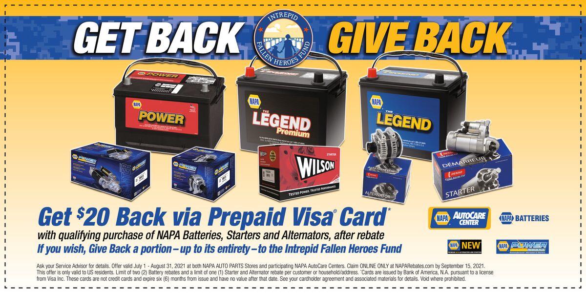 Get Back Give Back Coupon